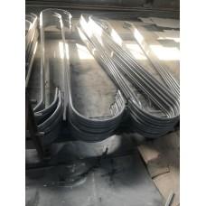 Изготовление металлических изделий на заказ по чертежам заказчика. Гибка труб.